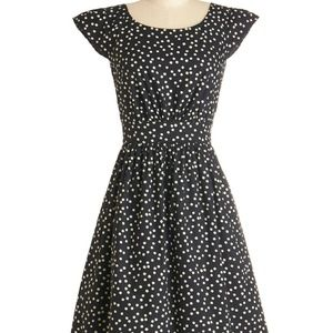 Emily and Fin Gloria polka dot retro cotton dress